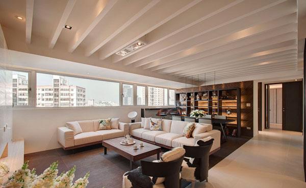 中式风格家装样板间-上海家爱建筑装饰工程有限公司
