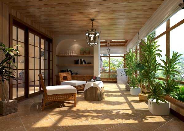 阳光房装修效果图