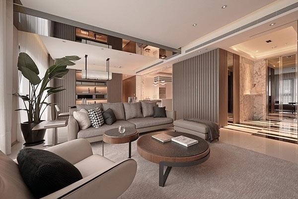 酒店式家庭装修设计效果图-上海家爱建筑装饰工程